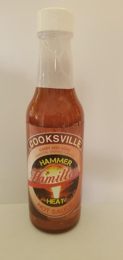 Cooksville Hammer Hamilton Heat Hot Sauce